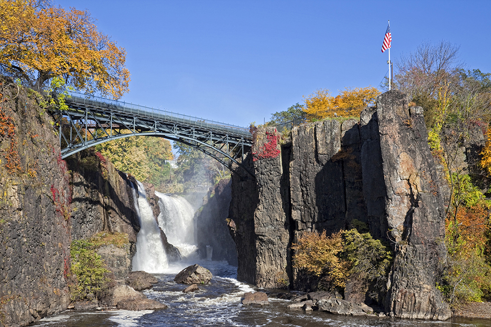 Visit Paterson Great Falls near Totowa, NJ